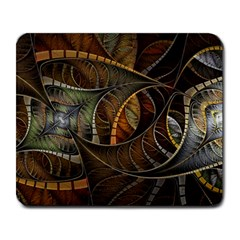 Mosaics Stained Glass Colorful  Large Mousepads by amphoto