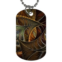 Mosaics Stained Glass Colorful  Dog Tag (one Side) by amphoto