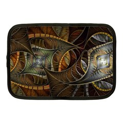 Mosaics Stained Glass Colorful  Netbook Case (medium)  by amphoto