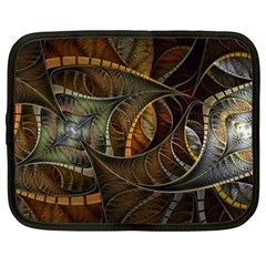 Mosaics Stained Glass Colorful  Netbook Case (xxl)  by amphoto