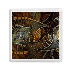 Mosaics Stained Glass Colorful  Memory Card Reader (square)  by amphoto