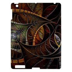 Mosaics Stained Glass Colorful  Apple Ipad 3/4 Hardshell Case by amphoto