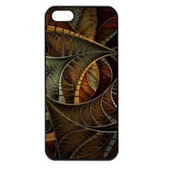 Mosaics Stained Glass Colorful  Apple Iphone 5 Seamless Case (black) by amphoto