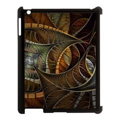 Mosaics Stained Glass Colorful  Apple Ipad 3/4 Case (black) by amphoto