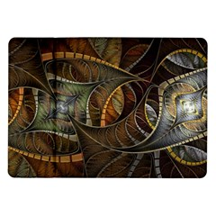 Mosaics Stained Glass Colorful  Samsung Galaxy Tab 10 1  P7500 Flip Case by amphoto