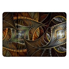 Mosaics Stained Glass Colorful  Samsung Galaxy Tab 8 9  P7300 Flip Case by amphoto