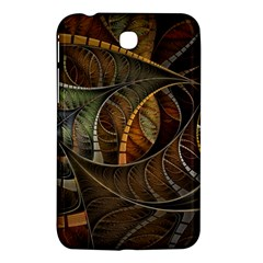 Mosaics Stained Glass Colorful  Samsung Galaxy Tab 3 (7 ) P3200 Hardshell Case  by amphoto