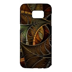 Mosaics Stained Glass Colorful  Samsung Galaxy S7 Edge Hardshell Case by amphoto