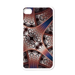 Lines Patterns Background  Apple Iphone 4 Case (white) by amphoto