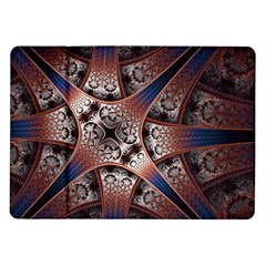 Lines Patterns Background  Samsung Galaxy Tab 10 1  P7500 Flip Case by amphoto