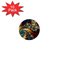 Patterns Paint Ice  1  Mini Magnet (10 Pack)  by amphoto