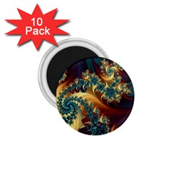 Patterns Paint Ice  1 75  Magnets (10 Pack)  by amphoto
