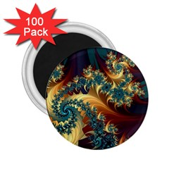 Patterns Paint Ice  2 25  Magnets (100 Pack)  by amphoto