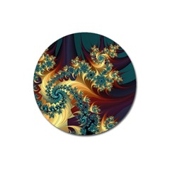 Patterns Paint Ice  Magnet 3  (round) by amphoto