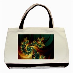Patterns Paint Ice  Basic Tote Bag (two Sides) by amphoto