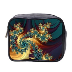 Patterns Paint Ice  Mini Toiletries Bag 2 Side by amphoto