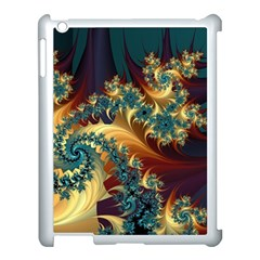 Patterns Paint Ice  Apple Ipad 3/4 Case (white) by amphoto