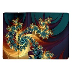 Patterns Paint Ice  Samsung Galaxy Tab 10 1  P7500 Flip Case by amphoto