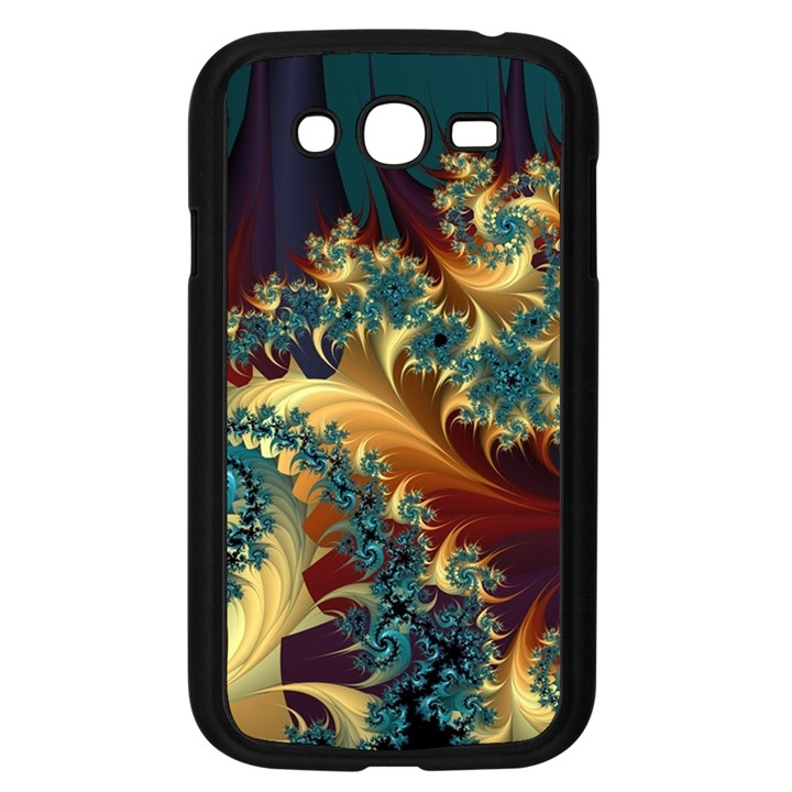 Patterns Paint Ice  Samsung Galaxy Grand DUOS I9082 Case (Black)