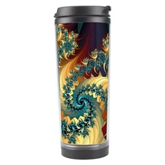 Patterns Paint Ice  Travel Tumbler by amphoto