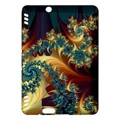 Patterns Paint Ice  Kindle Fire Hdx Hardshell Case by amphoto