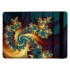Patterns Paint Ice  Samsung Galaxy Tab Pro 12 2  Flip Case by amphoto