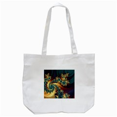 Patterns Paint Ice  Tote Bag (white) by amphoto