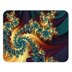 Patterns Paint Ice  Double Sided Flano Blanket (large)  by amphoto