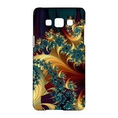 Patterns Paint Ice  Samsung Galaxy A5 Hardshell Case  by amphoto