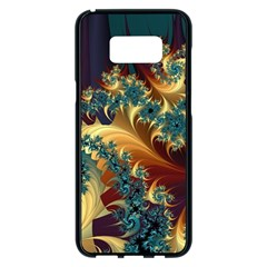 Patterns Paint Ice  Samsung Galaxy S8 Plus Black Seamless Case by amphoto