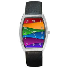Layers Light Bright  Barrel Style Metal Watch by amphoto