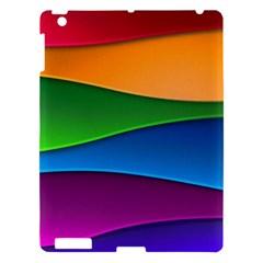 Layers Light Bright  Apple Ipad 3/4 Hardshell Case by amphoto