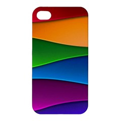 Layers Light Bright  Apple Iphone 4/4s Premium Hardshell Case by amphoto
