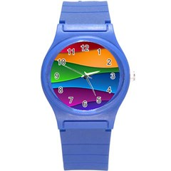 Layers Light Bright  Round Plastic Sport Watch (s) by amphoto