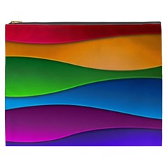 Layers Light Bright  Cosmetic Bag (xxxl)  by amphoto
