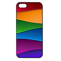 Layers Light Bright  Apple Iphone 5 Seamless Case (black) by amphoto