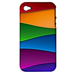 Layers Light Bright  Apple Iphone 4/4s Hardshell Case (pc+silicone) by amphoto