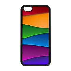 Layers Light Bright  Apple Iphone 5c Seamless Case (black) by amphoto
