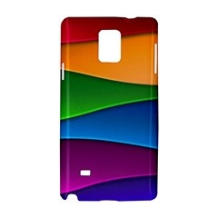 Layers Light Bright  Samsung Galaxy Note 4 Hardshell Case by amphoto