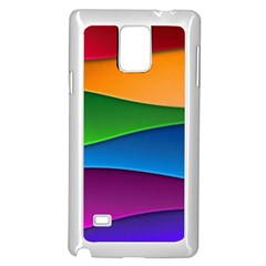 Layers Light Bright  Samsung Galaxy Note 4 Case (white) by amphoto
