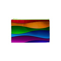 Layers Light Bright  Cosmetic Bag (xs) by amphoto