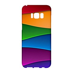 Layers Light Bright  Samsung Galaxy S8 Hardshell Case  by amphoto