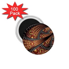 Patterns Background Dark  1 75  Magnets (100 Pack)  by amphoto