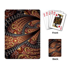 Patterns Background Dark  Playing Card by amphoto