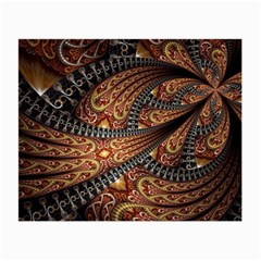 Patterns Background Dark  Small Glasses Cloth (2 Side) by amphoto