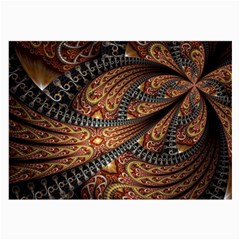 Patterns Background Dark  Large Glasses Cloth by amphoto