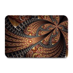 Patterns Background Dark  Plate Mats by amphoto