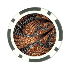 Patterns Background Dark  Poker Chip Card Guard (10 Pack) by amphoto