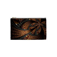 Patterns Background Dark  Cosmetic Bag (small)  by amphoto