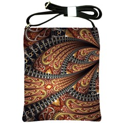 Patterns Background Dark  Shoulder Sling Bags by amphoto